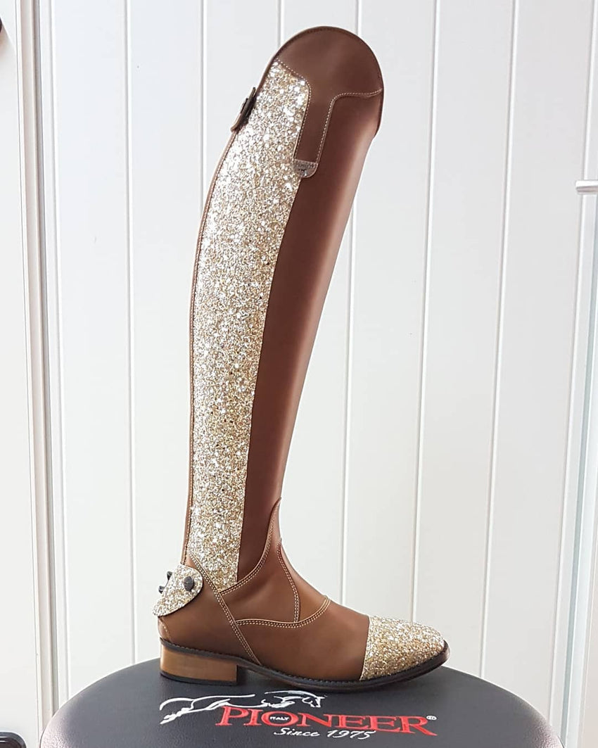riding Boots with glitter