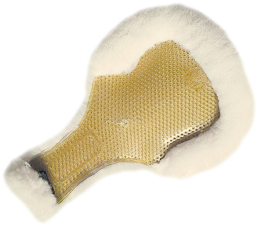 Therapeutic Gel Pad Keyhole with Full Sheepskin
