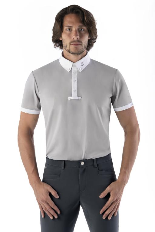 Light Grey mens competition shirt