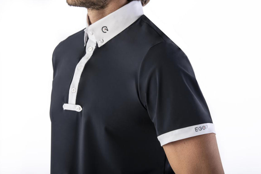 Navy Mens Show Show Jumping Shirt