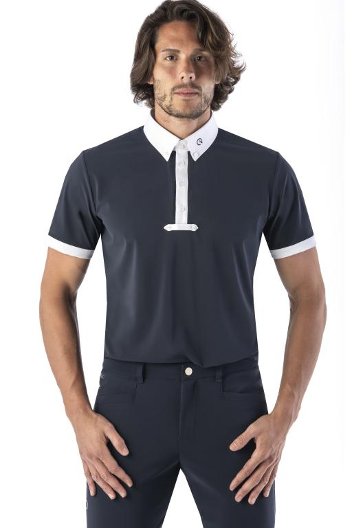 Navy Mens Competition Shirt