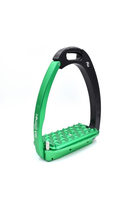 Green Childrens safety stirrups