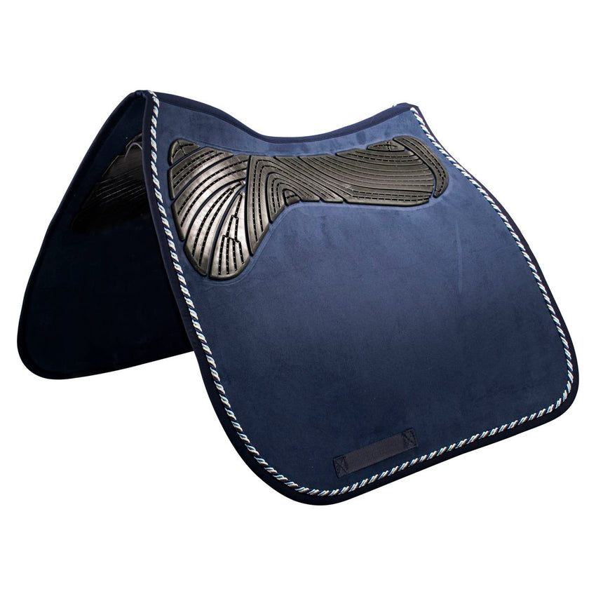 Navy Dressage Pad with Gel