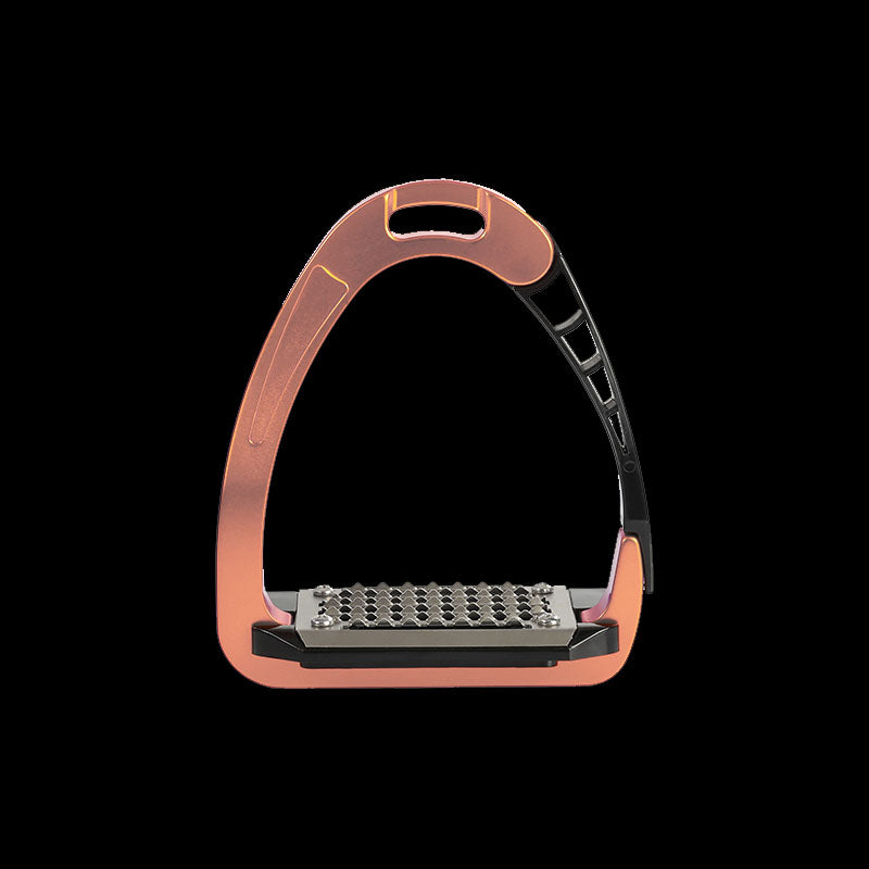 Arena Alu-Pro Safety Stirrups rose gold