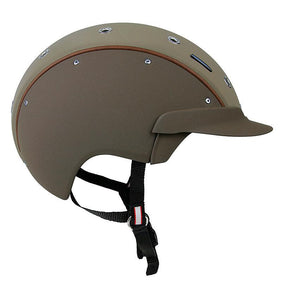 Brown Dressage Helmet