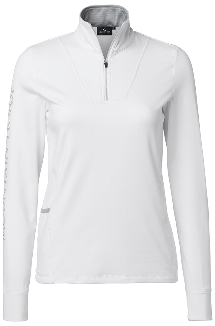 White Winter Horse Riding Base Layer