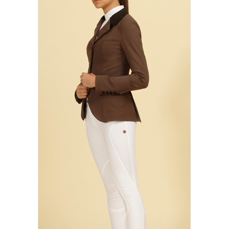 Brown Womens Competition Jacket