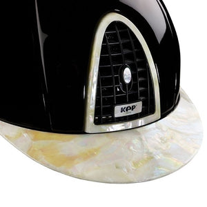 Mother of Pearl Kep Helmet