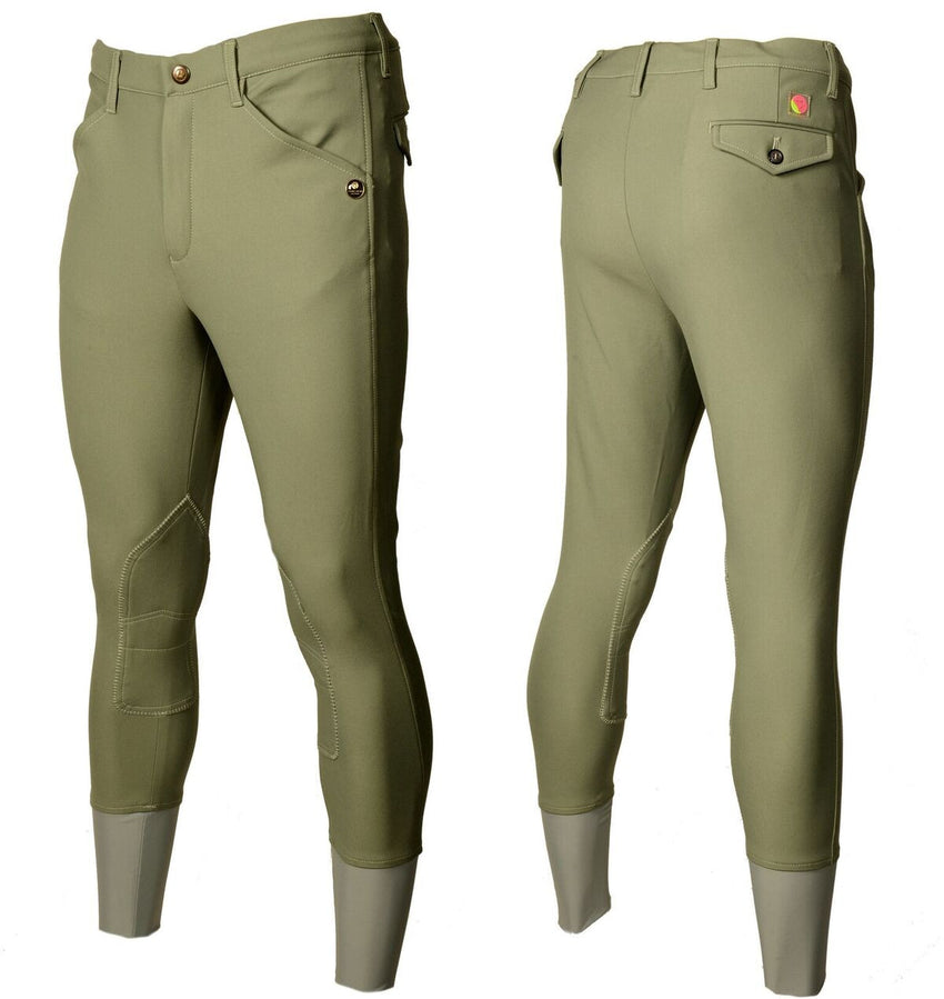 Men's Beige Coloured Breeches