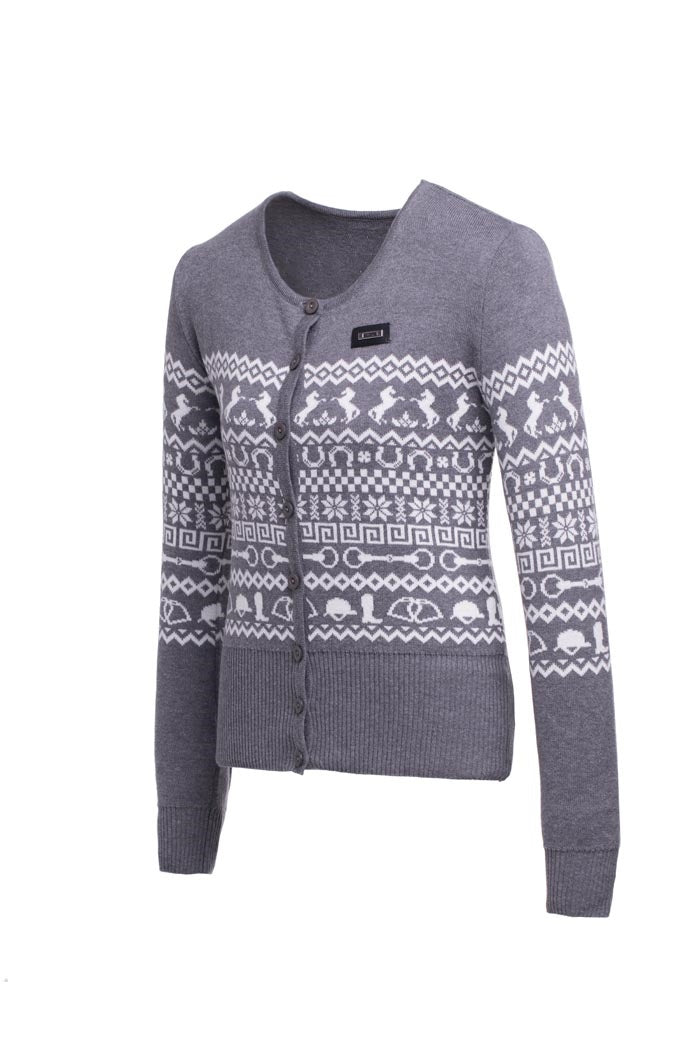 Grey Scandi Cardigan