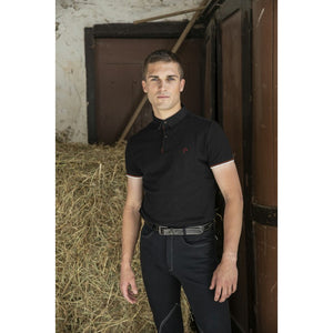 Men's riding polo shirt