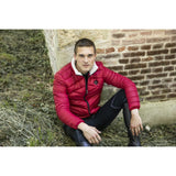 Red Men's Padded Jacket