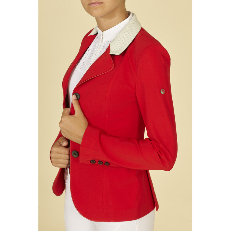 Ladies Red Competition Jacket