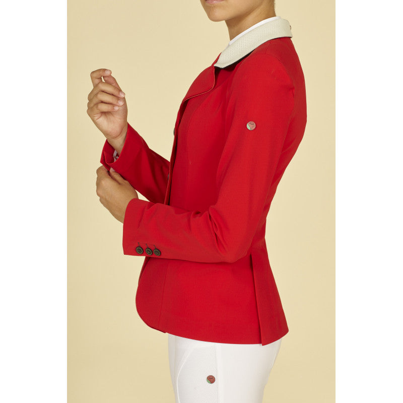Manfredi Red Show Jacket