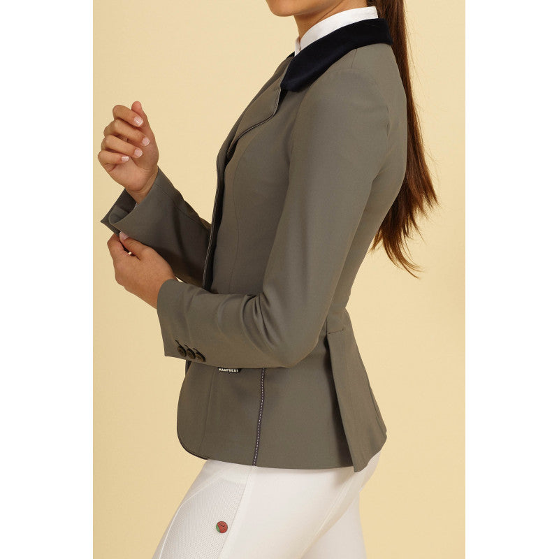 Light Grey Ladies Show Jumping Jacket