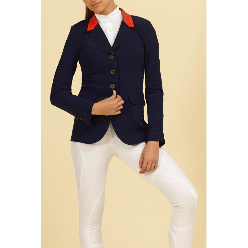 Manfredi Navy Womens Show Jacket