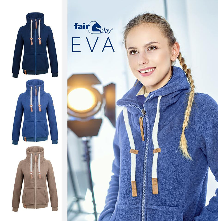 Fleece Sweat Jacket Eva