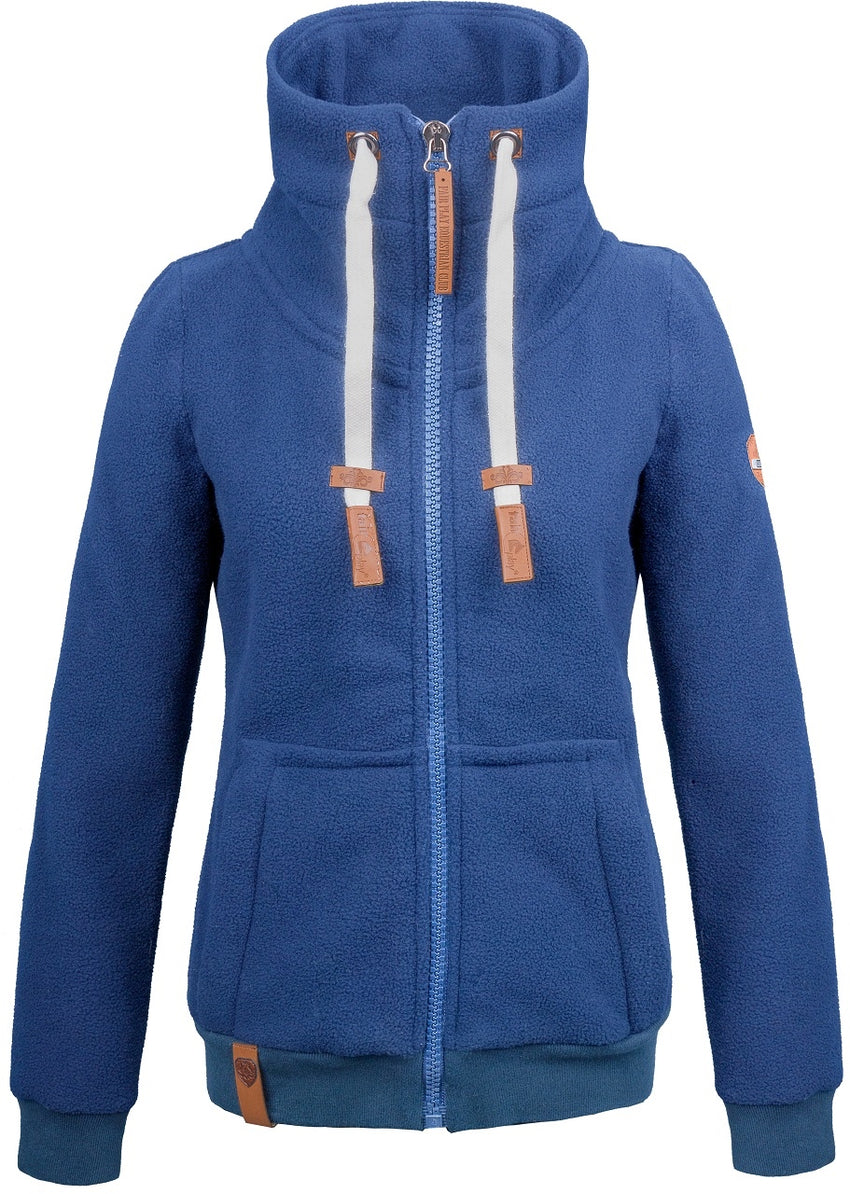 Blue Riding Sweat Jacket
