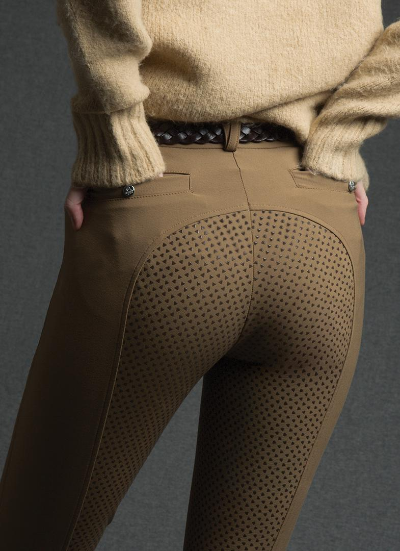 Silicone Seat Beige Breeches