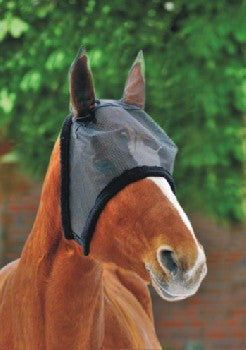 Fly Mask with Soft Faux Fur