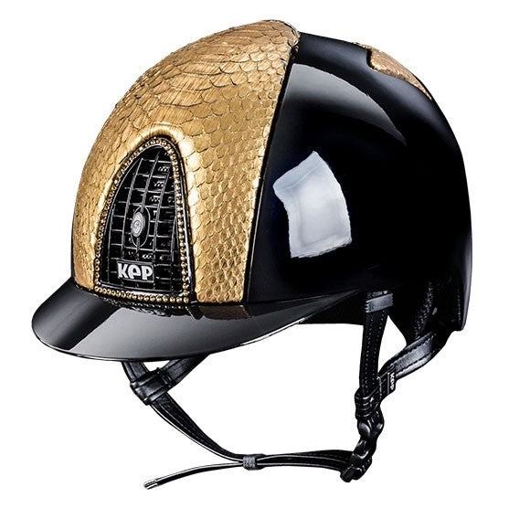 Kep helmet with gold