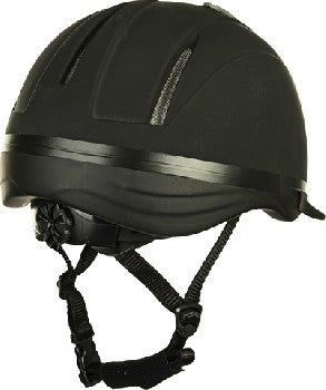 Riding Helmet Carbon Art
