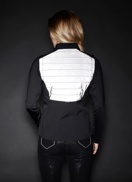 Reflective Winter Riding Vest