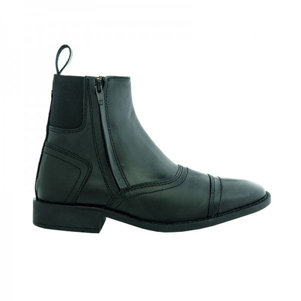 Jodhpur Boots with Side Zipper