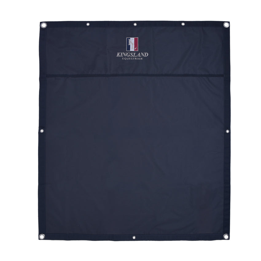 Navy Stable Drapes