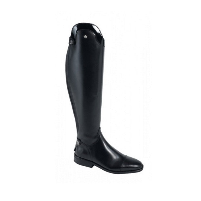 Konigs Dressage boots with patent top
