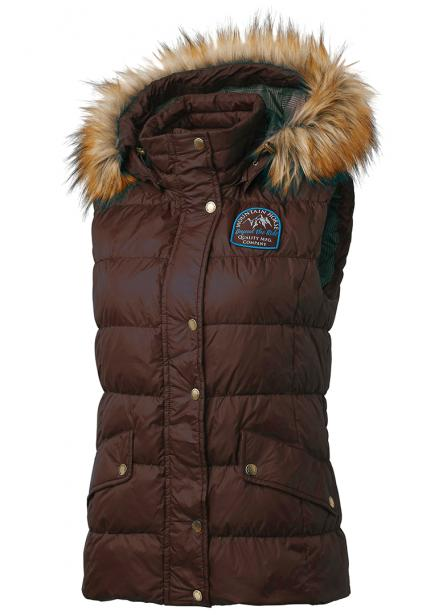Brown Winter Riding Vest