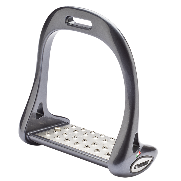 Lorenzini Stirrups in Anthracite