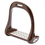Brown Lorenzini Jumping Stirrups