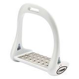 White Lorenzini Jumping Stirrups
