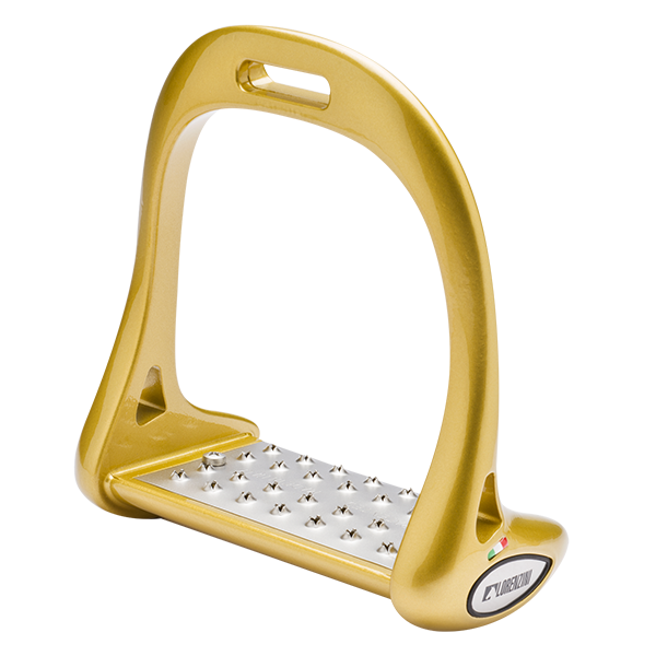 Lorenzini Jumping Stirrups Yellow