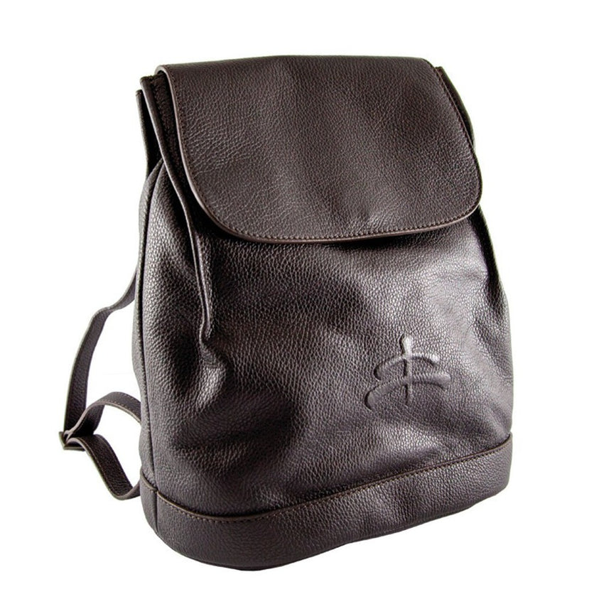 Italian Made Leather Backpack