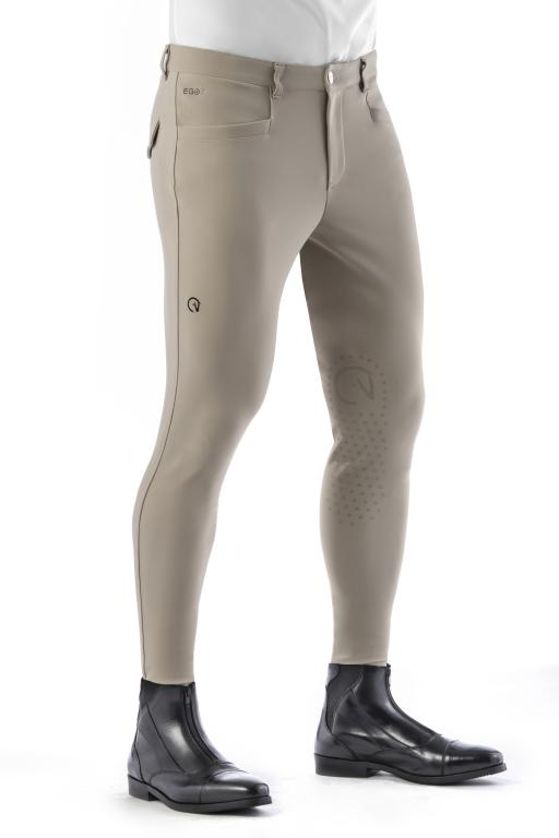 Beige Men Breeches