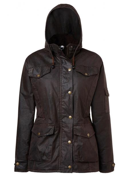 Ladies Oilskin Jacket