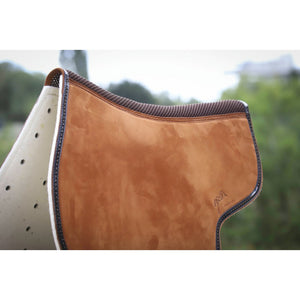 Leather half pad