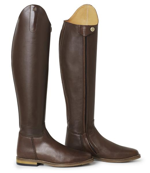 Dark Brown Dressage Boots
