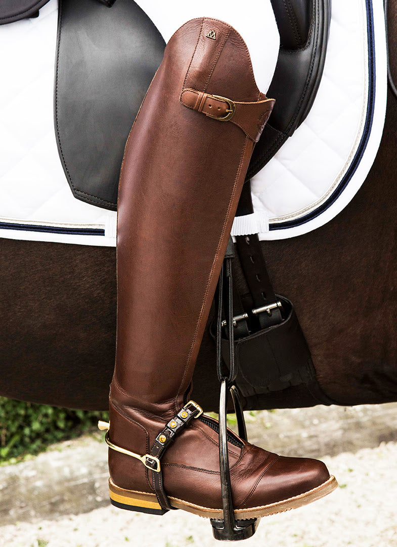 Brown Dressage Boots
