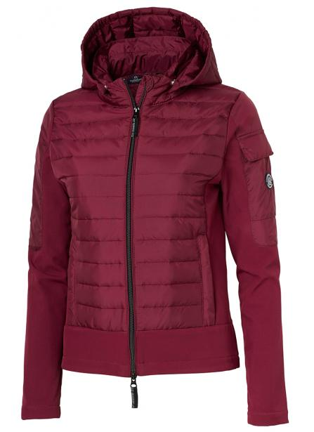 Burgundy Riding Jacket