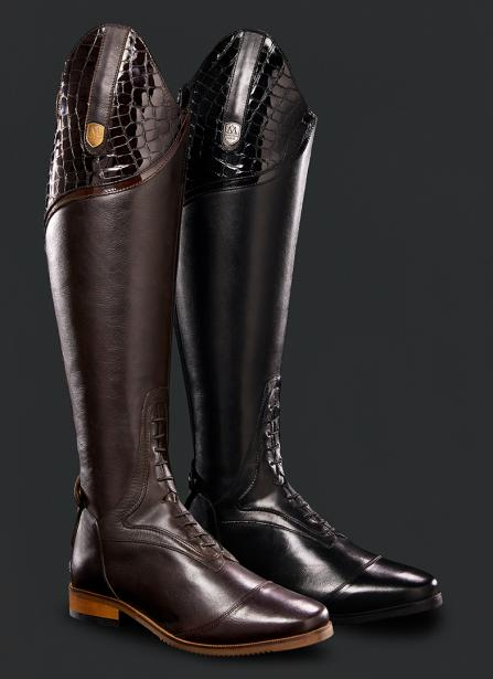 Mountain horse Sovereign boots with croco top