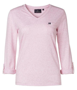 Long sleeve ladies ridng top
