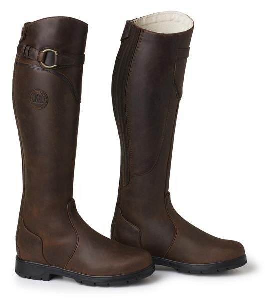 Brown Polo Boots