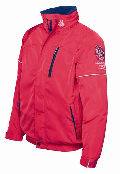 Mountain Horse Team Jacket Red