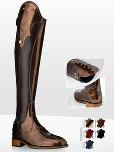 Bronze Coloured Riding Boots