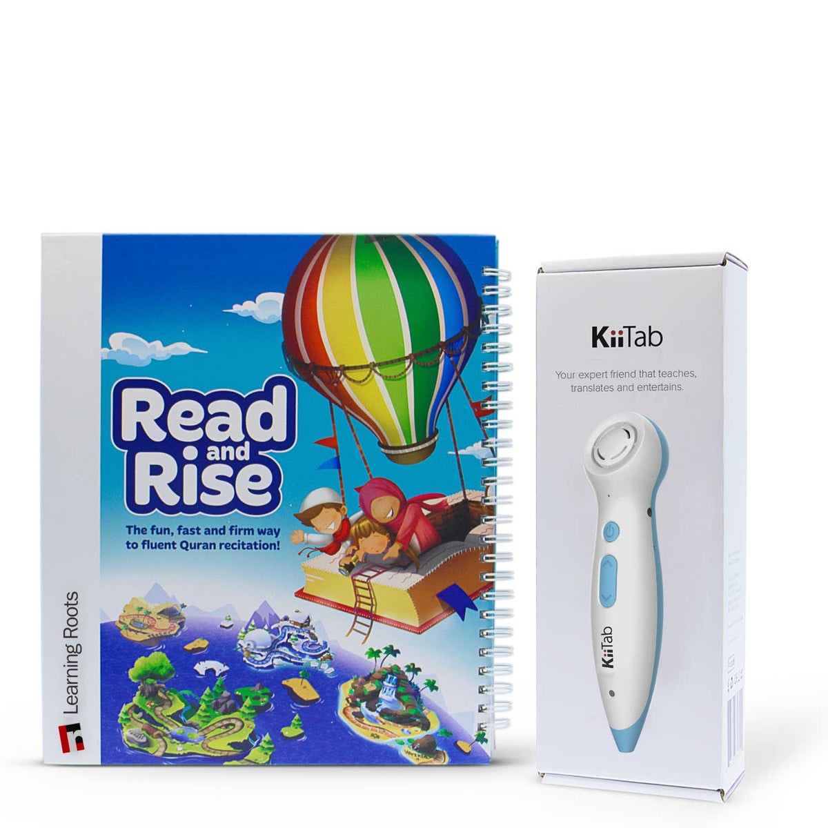 Kiitab with Read & Rise - Learning Roots