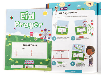 Ramadan Activity Book Set (Big & Little Kids) - Learning Roots