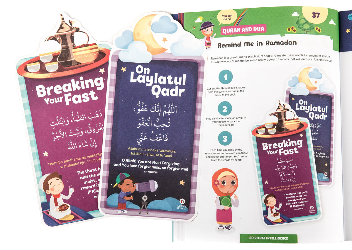Ramadan Activity Book (Big Kids) - Learning Roots
